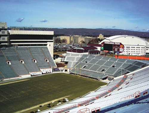 VIRGINIA TECH – LANE STADIUM
